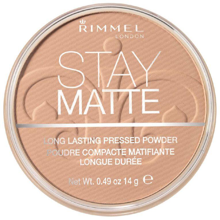 Rimmel Stay Matte Pressed Powder Transparent, , hi-res