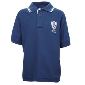 Schooltex Belfast School Short Sleeve Polo with Embroidery