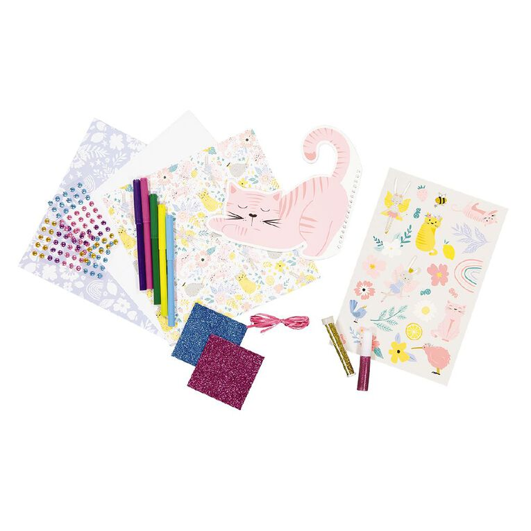 Kookie DIY Kiwiana Journal Kit, , hi-res