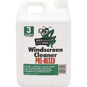 Bar's Bugs Pre-Mixed Windscreen Cleaner 3L