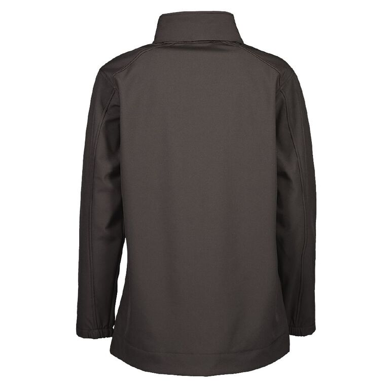 Schooltex Waitara High School Softshell Jacket with Embroidery, Black, hi-res