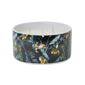 Living & Co Citronella 5 Wick Ceramic Jar Candle Navy 19.4oz