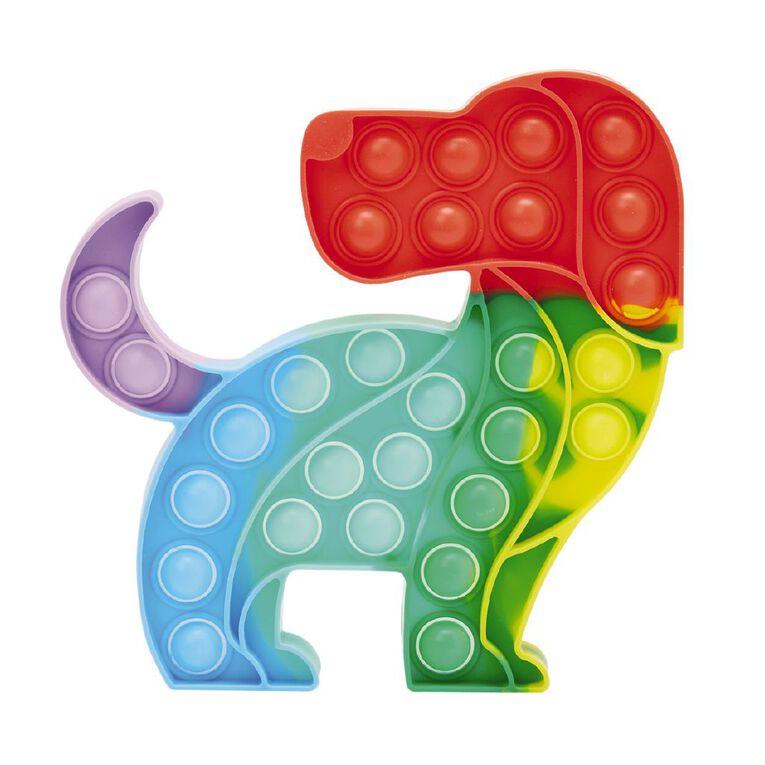 Fidget Pop-It Dog Rainbow, , hi-res