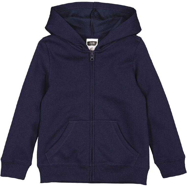 Young Original Zip-Thru Sweatshirt, Blue Dark, hi-res