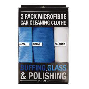 Microfiber Car Cleaning Clothes 3 Pack 40cm x 40cm