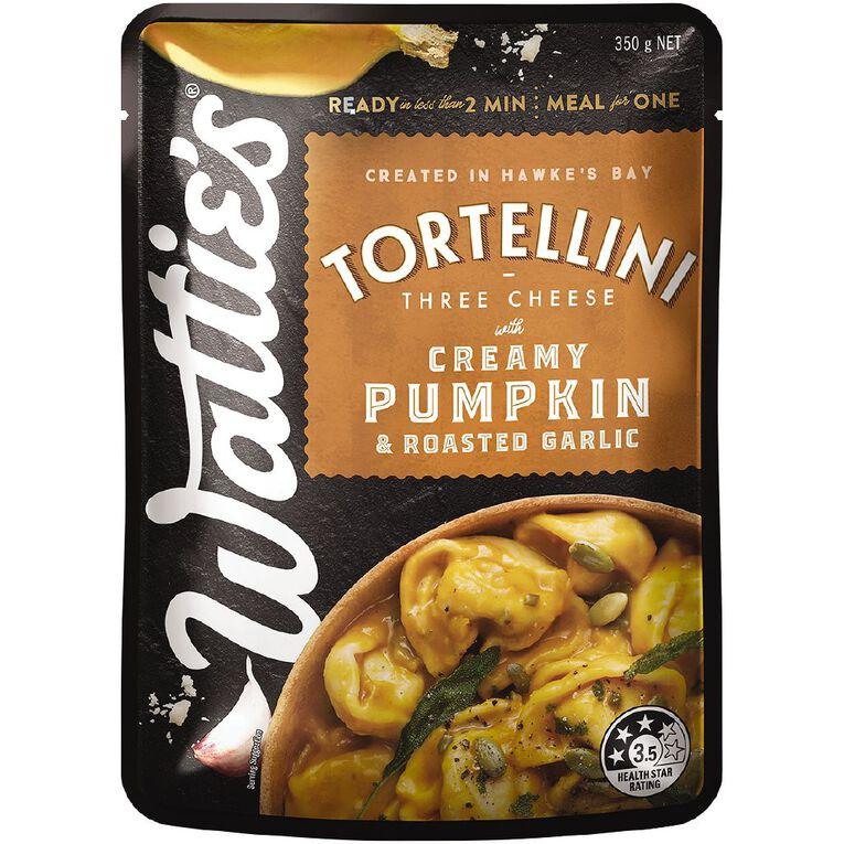 Wattie's Creamy Pumpkin & Roasted Garlic Tortellini 350G, , hi-res