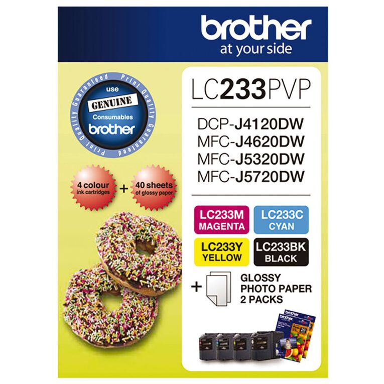 Brother Ink LC233 Photo Value Pack (550 pages), , hi-res