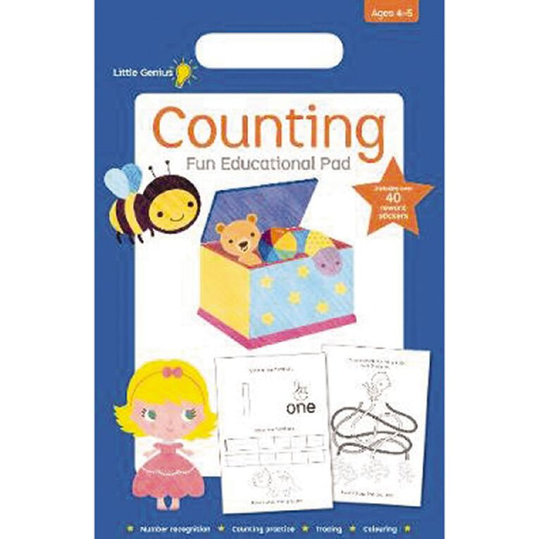 Little Genius Small Pad Counting, , hi-res