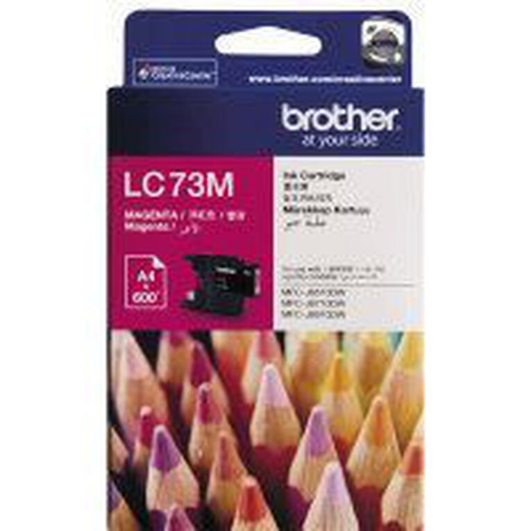 Brother Ink LC73 Magenta (600 Pages), , hi-res