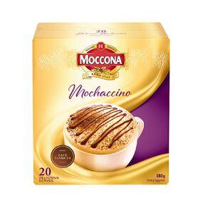 Moccona Coffee Cafe Classics Mochaccino 20 Sachets