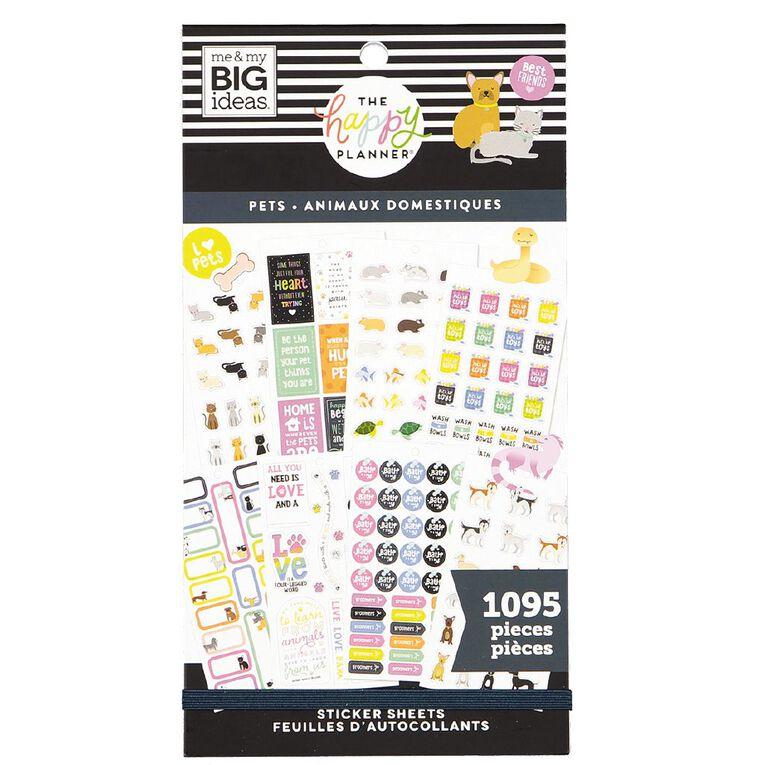 Me & My Big Ideas Sticker Book Pets, , hi-res