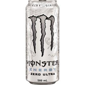 Monster Energy Drink Can Ultra Zero 500ml