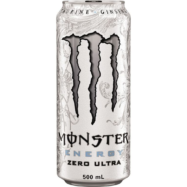 Monster Energy Drink Can Ultra Zero 500ml, , hi-res