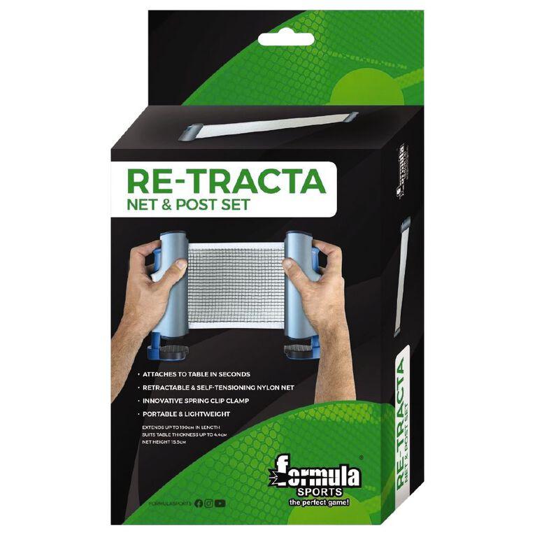 Formula Sports Table Tennis Retracta Net & Post Set, , hi-res