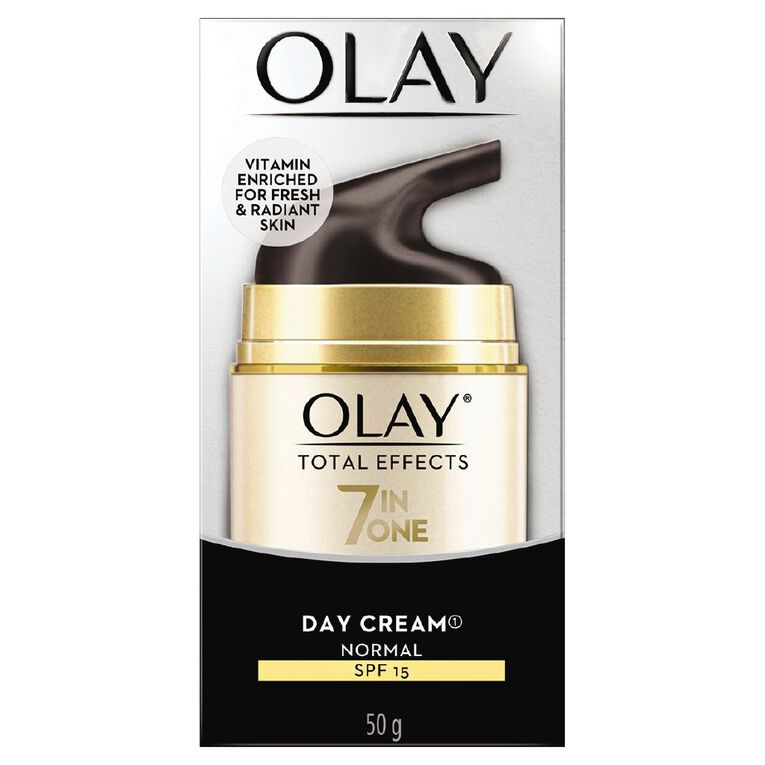 Olay Total Effects UV Day Cream SPF15 Normal 50g, , hi-res