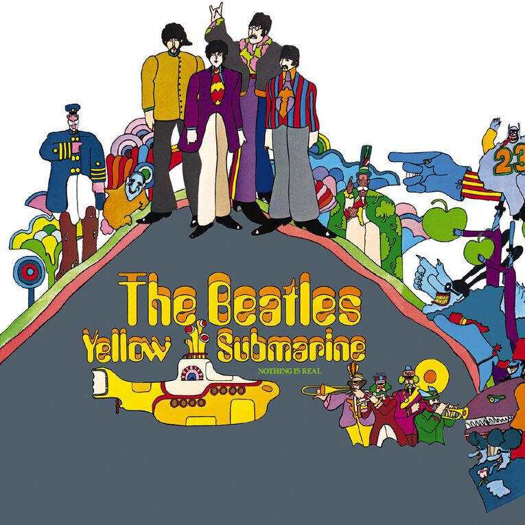 Yellow Submarine (Remastered) by The Beatles 1Disc, , hi-res