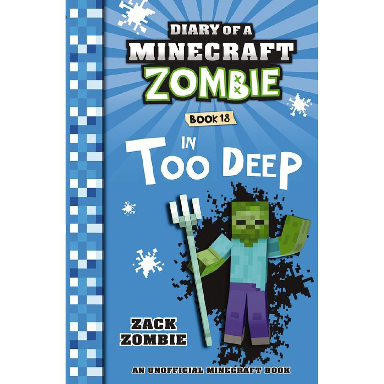 Minecraft Zombie #18 In Too Deep by Zack Zombie, , hi-res