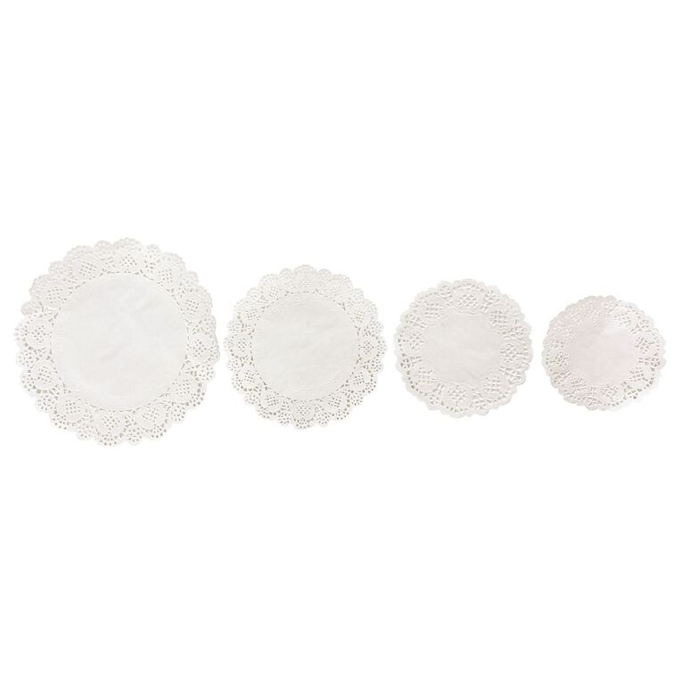 Uniti White Doilies 60 Sheets, , hi-res