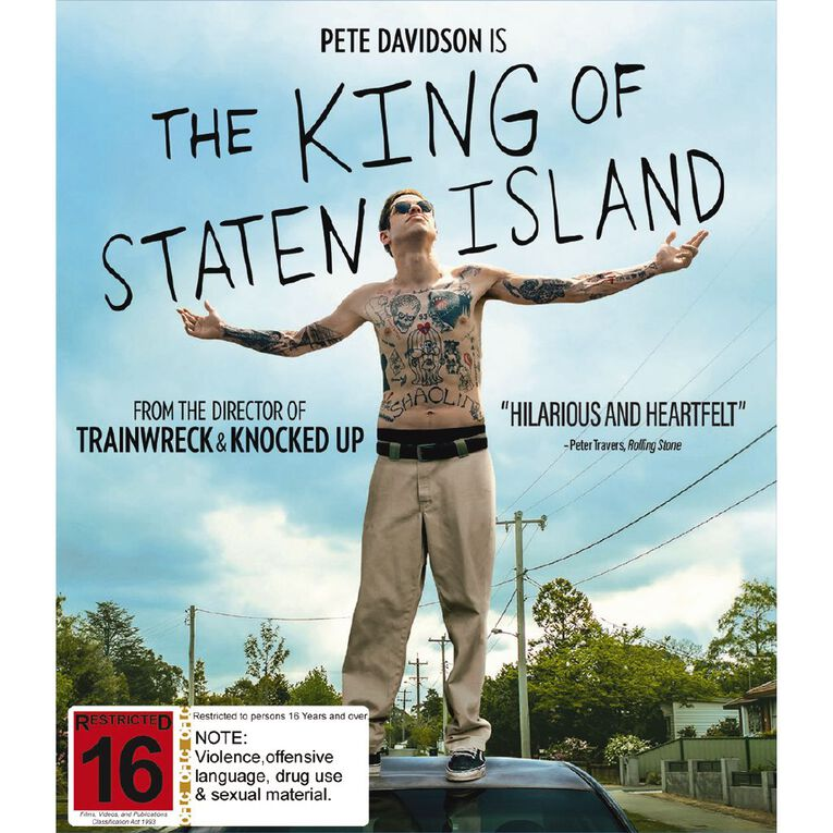 The King Of Staten Island Blu-ray 1Disc, , hi-res