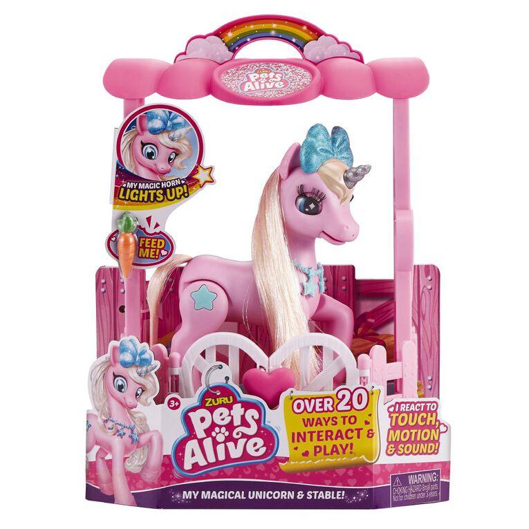 Zuru Pets Alive Unicorn Playset, , hi-res