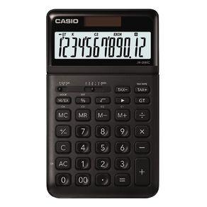 Casio JW200SCBK Desktop 12 Digit Calculator Stylish Black