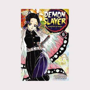Demon Slayer: Kimetsu No Yaiba Vol #6 by Koyoharu Gotouge
