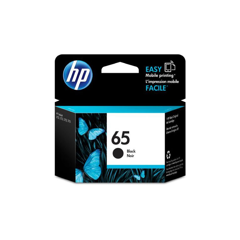 HP Ink 65 Black (120 Pages), , hi-res