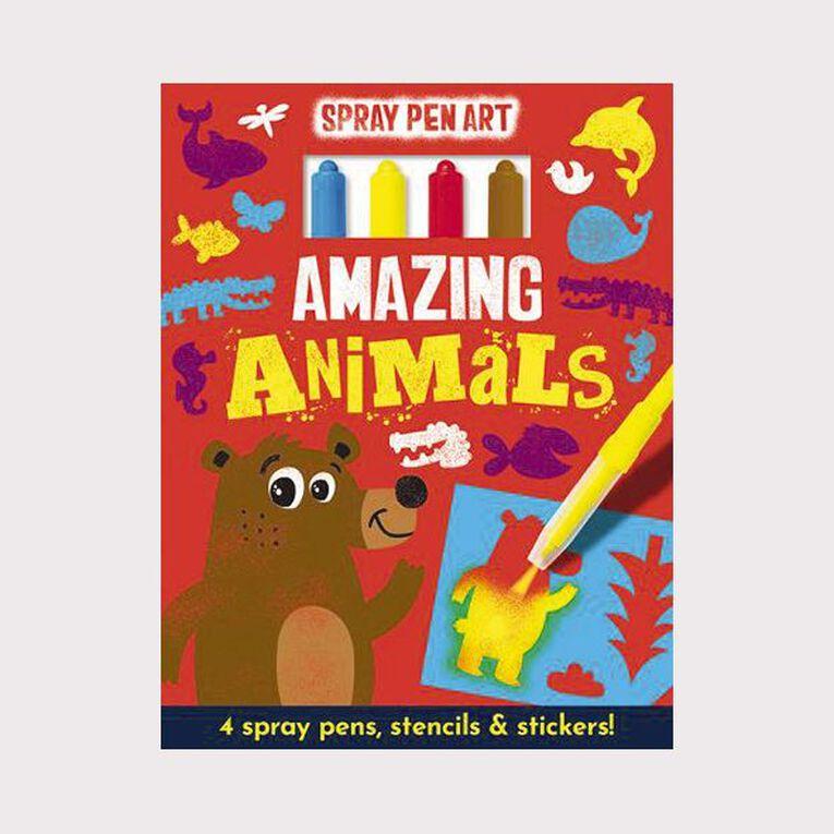 Spray Pen Art: Amazing Animals, , hi-res
