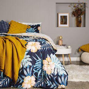 Living & Co Comforter Set 7 Piece Bora Bora Multi-Coloured