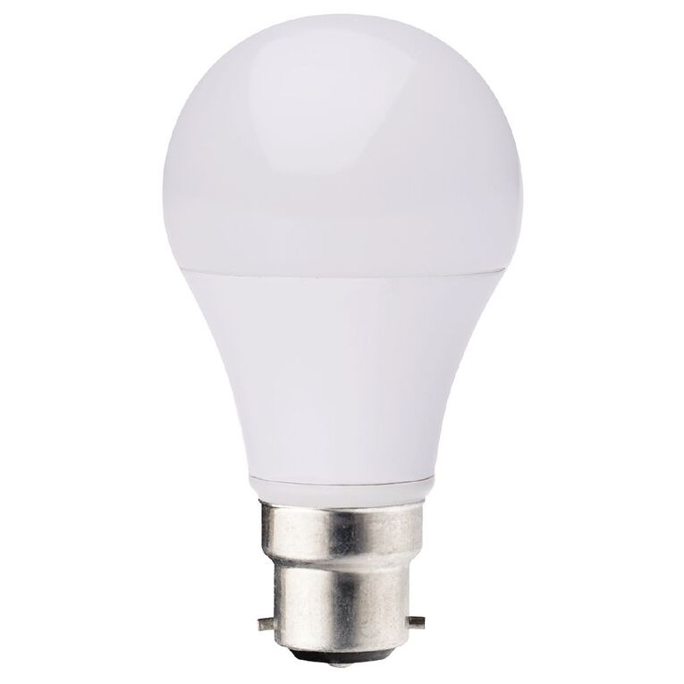 Living & Co LED Bulb A60 B22 9w Warm White, , hi-res