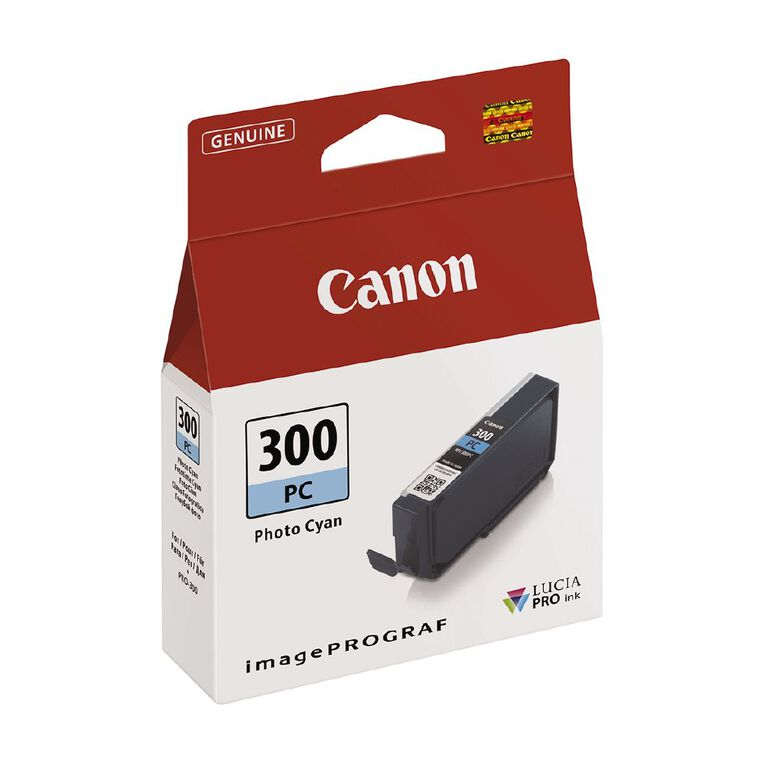 Canon Ink Lucia Pro PFI-300 Photo Cyan, , hi-res image number null
