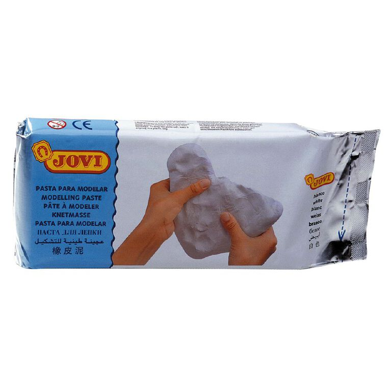 Jovi Clay Air Hardening White 1kg, , hi-res