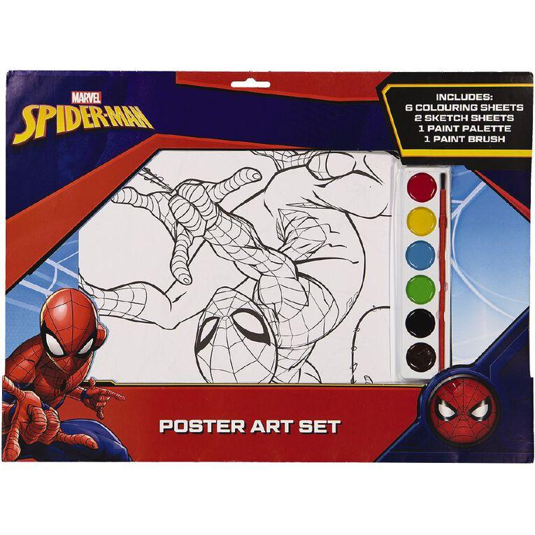Spider-Man Poster Art Set A3, , hi-res