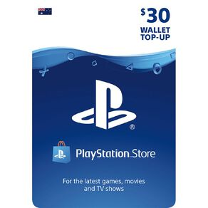 Sony PlayStation $30 Wallet Top-up
