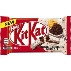 KitKat Double Cookies & Cream Bar 45g