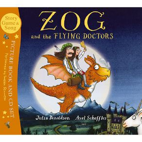Zog & the Flying Doctors (with CD) by Julia Donaldson
