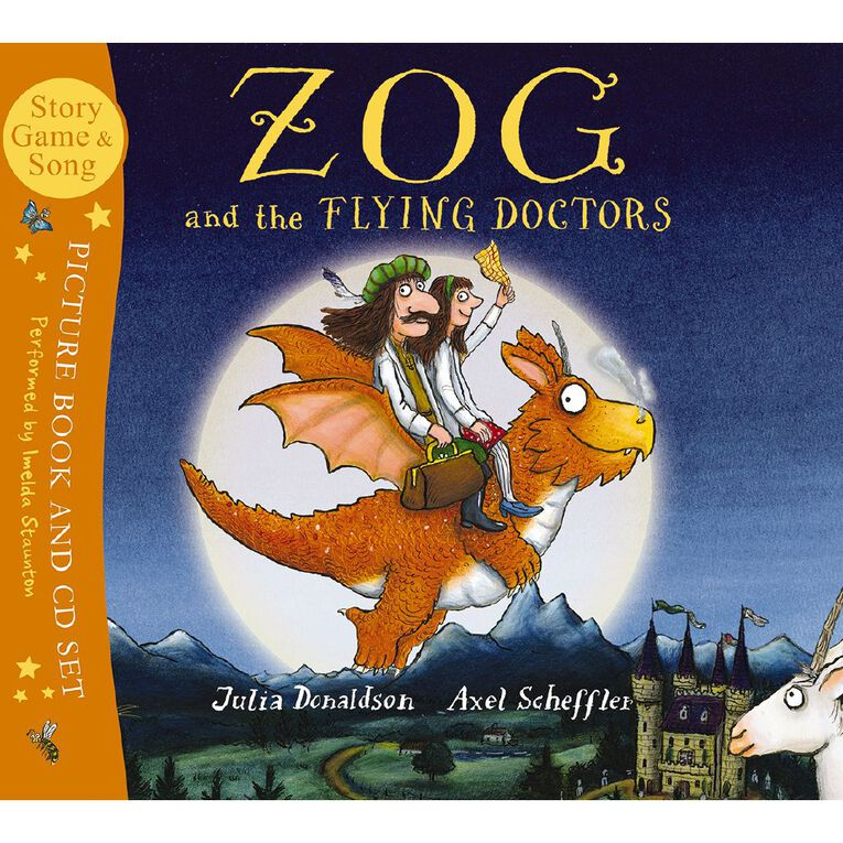Zog & the Flying Doctors (with CD) by Julia Donaldson, , hi-res
