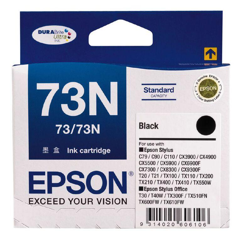 Epson Ink 73N Black (245 Pages), , hi-res