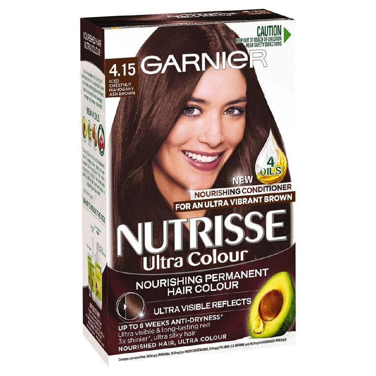 Garnier Nutrisse 4.15 Mahogany Ash Brown, , hi-res