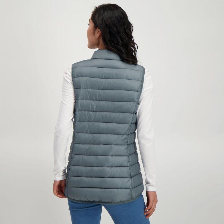 H&H Puffer Vest, Grey Dark, hi-res