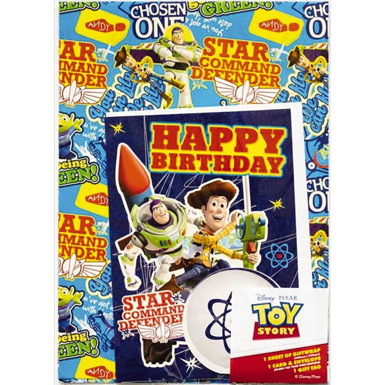 John Sands Pack Wrap Juvenile Disney Toy Story, , hi-res