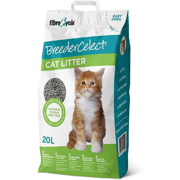 BreederCelect Recycled Paper Cat Litter 20Lt, , hi-res