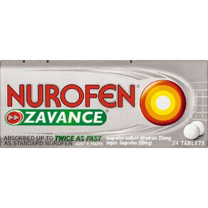 Nurofen Zavance Tablets 24s