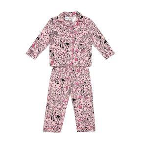 101 Dalmatians Disney Girls' Fleece Pyjamas