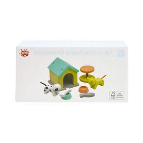 Play Studio Wooden Pet Furniture Play Set