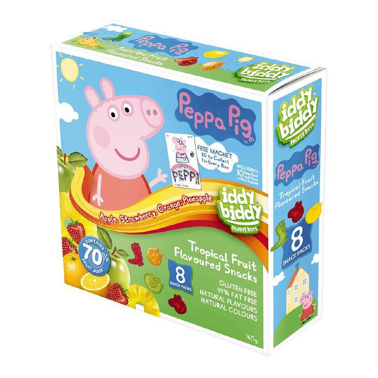 Peppa Pig Iddy Biddy Fruit Snacks 160g, , hi-res