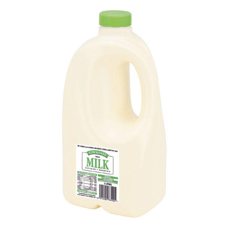 Cow & Gate Trim Light Green Milk 2L, , hi-res