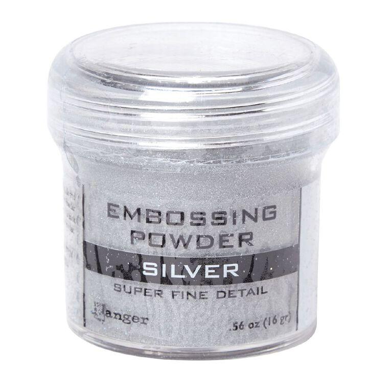 Ranger Embossing Powder Silver Super Fine, , hi-res