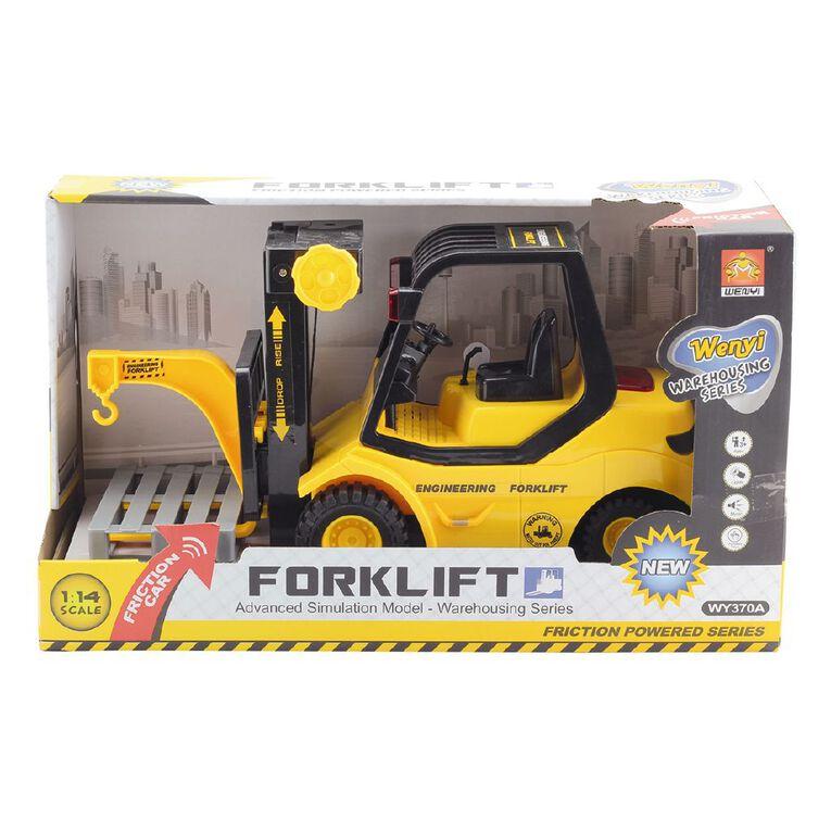 Play Studio Light Up 1:14 Friction Forklift Construction Vehicle, , hi-res