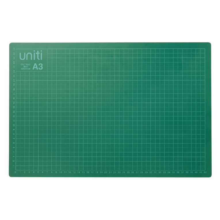 Uniti Cutting Mat 450 x 300 x 3mm A3, , hi-res image number null